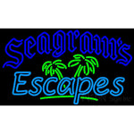 Seagrams Escapes Neon Wine Coolers Sign
