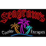Seagrams Wild Berry Margarita Strawberry Daiquiri Wine Coolers sign