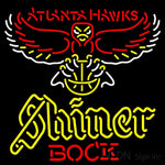 Shiner Atlanta Hawks NBA Neon Beer Sign