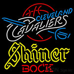 Shiner Cleveland Caveliers NBA Neon Beer Sign
