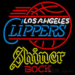 Shiner Los Angeles Clippers NBA Neon Beer Sign