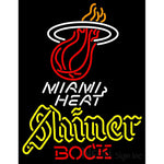 Shiner Miami Heat NBA Neon Beer Sign
