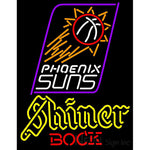 Shiner Phoenix Suns NBA Neon Beer Sign