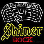 Shiner San Antonio Spurs NBA Neon Beer Sign