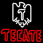 Tecate Eagle Logo Neon Beer Sign 16x16