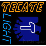 Tecate Light Neon Sign 24x23