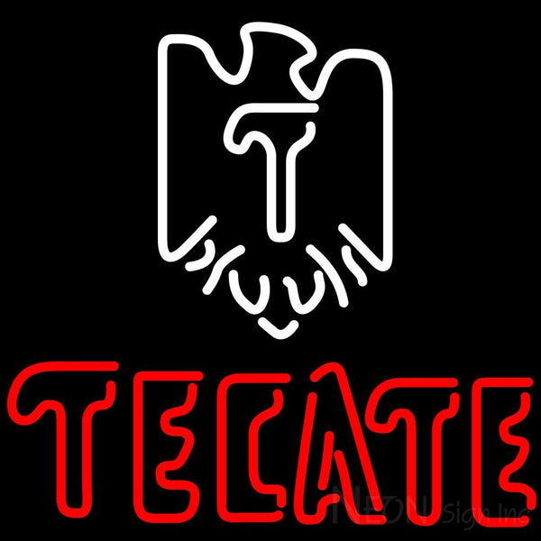Tecate Eagle Logo Neon Beer Sign 24x24