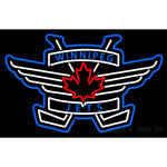 Winnipeg Jets Alternate 2011 12 Pres Logo  NHL Neon Sign