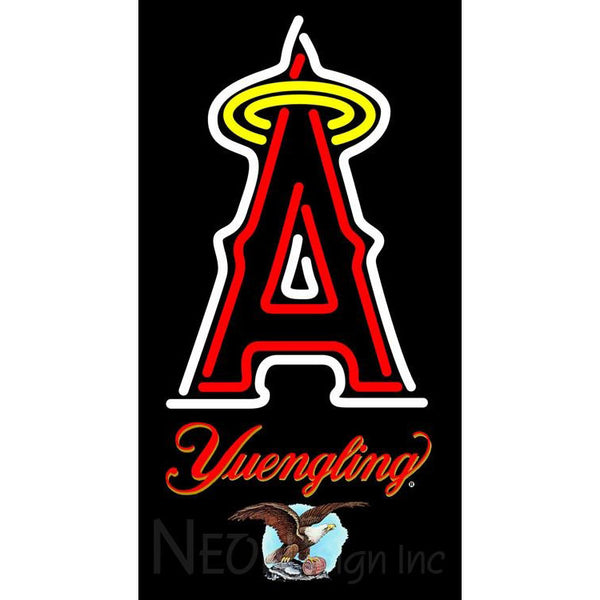 Yuengling Anaheim Angels MLB Neon Sign 3 0017