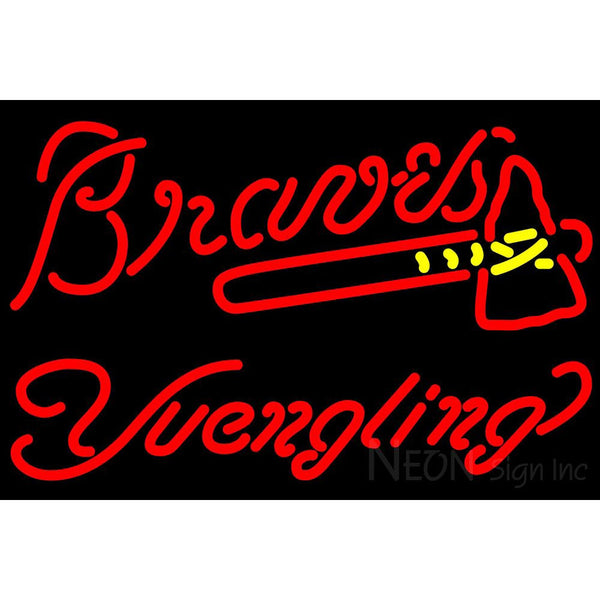 Yuengling Atlanta Braves MLB Beer Neon Sign