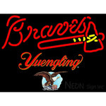 Yuengling Atlanta Braves MLB Neon Sign 3 0019