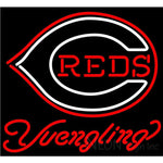 Yuengling Cincinnati Reds MLB Beer Neon Sign 24x22