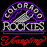 Yuengling Colorado Rockies MLB Beer Neon Sign