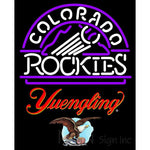 Yuengling Colorado Rockies MLB Neon Sign 3 0021