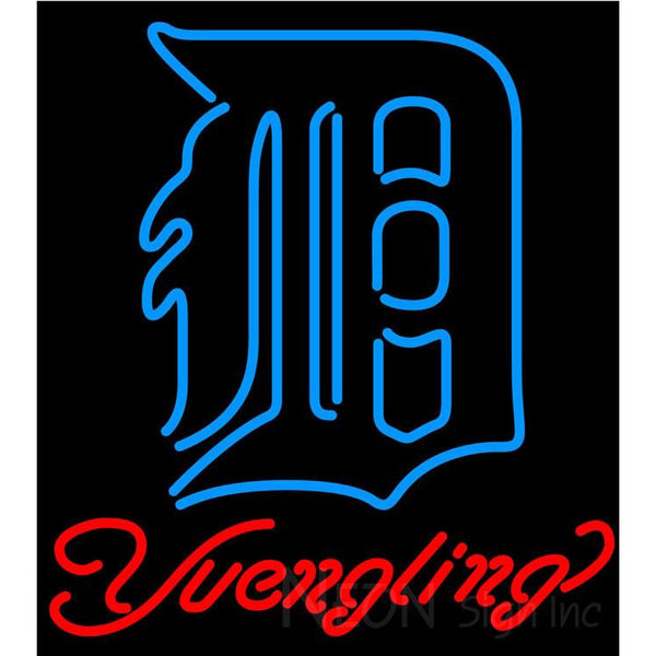 Yuengling Detroit Tigers MLB Beer Neon Sign