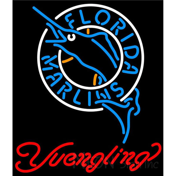 Yuengling Florida Marlins MLB Beer Neon Sign