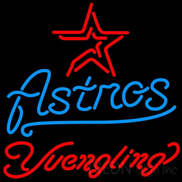 Yuengling Houston Astros MLB Beer Neon Sign 24x24