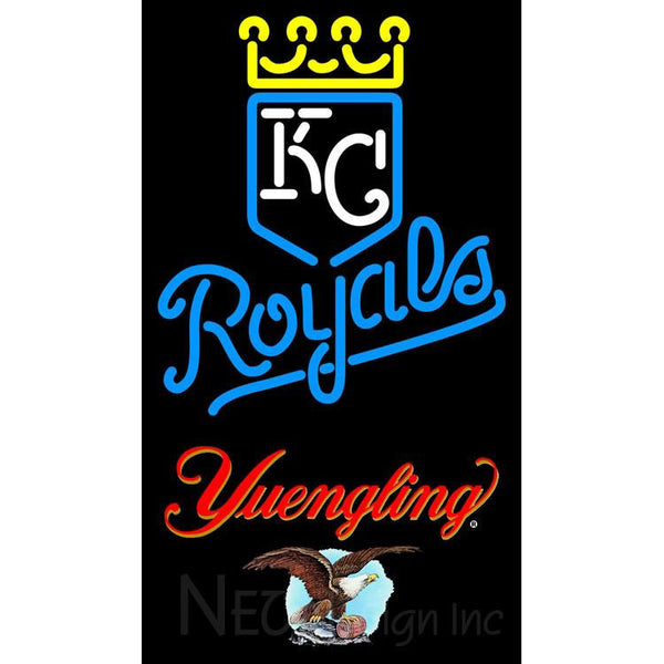 Yuengling Kansas City Royals MLB Neon Signs 3 0020