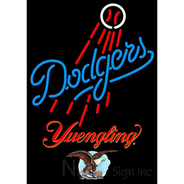 Yuengling Los Angeles Dodgers MLB Neon Sign 3 0022
