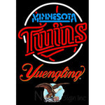 Yuengling Minnesota Twins MLB Neon Sign 3 0014