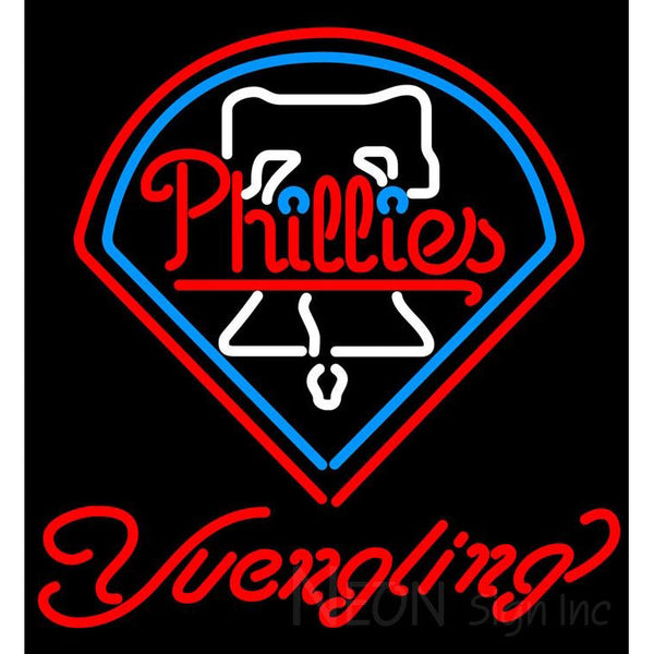 Yuengling Philadelphia Phillies MLB Beer Neon Sign