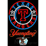 Yuengling Texas Rangers MLB Neon Sign 3 0013