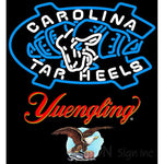 Yuengling Unc North Carolina Tar Heels MLB Neon Sign 3 0015