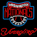 Yuengling Washington Nationals MLB Beer Neon Sign