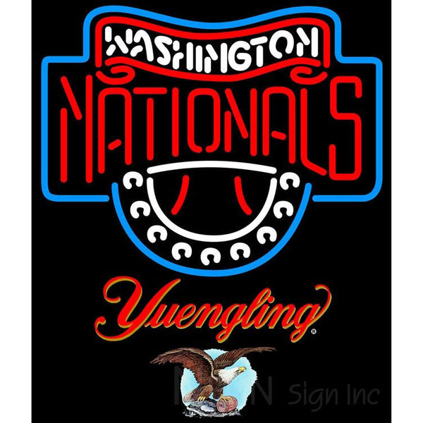 Yuengling Washington Nationals MLB Neon Sign 3 0014