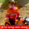 Hi Vis Cotton Drill Shirts
