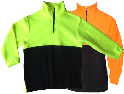 Kids Hi-Vis Polar Fleece Jumper