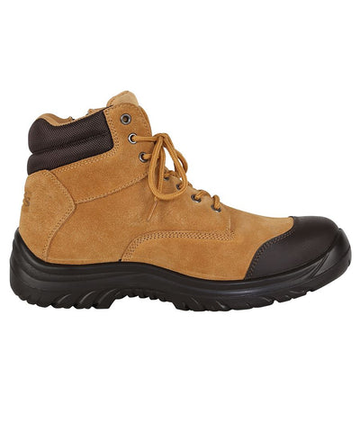 Steeler Side Zip/Lace Up Safety Boot