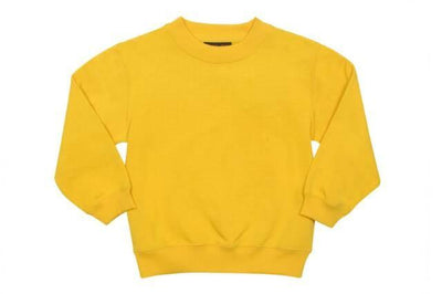 Ramo-Ramo Kids Crew Neck Sloppy Joes-Gold / 0-Uniform Wholesalers - 5