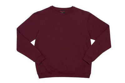 Ramo-Ramo Kids Crew Neck Sloppy Joes-Maroon / 0-Uniform Wholesalers - 2
