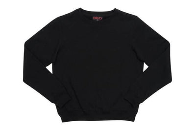 Ramo-Ramo Kids Crew Neck Sloppy Joes-Black / 0-Uniform Wholesalers - 3