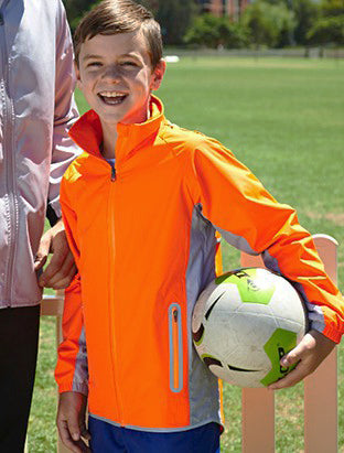 Kids Reflective Wet Weather Jacket