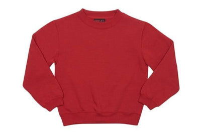 Ramo-Ramo Kids Crew Neck Sloppy Joes-Red / 0-Uniform Wholesalers - 8