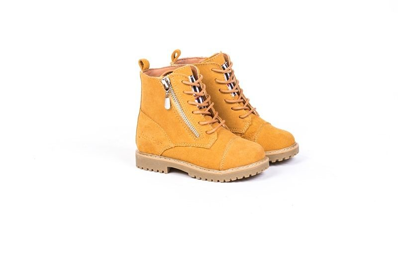 Junior Kids Side Zip/Lace Up Boots