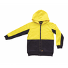 Kids Hi-Vis Full Zip Hooded Jacket