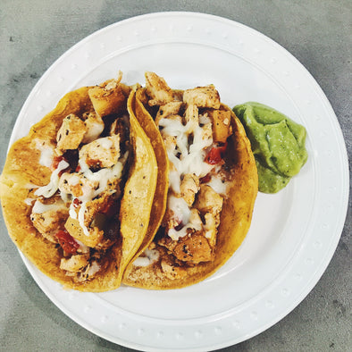 GRILLED PINA & POLLO TACOS