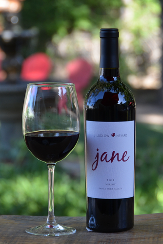 2011 'Jane' Merlot - J Ludlow Awarded Wine