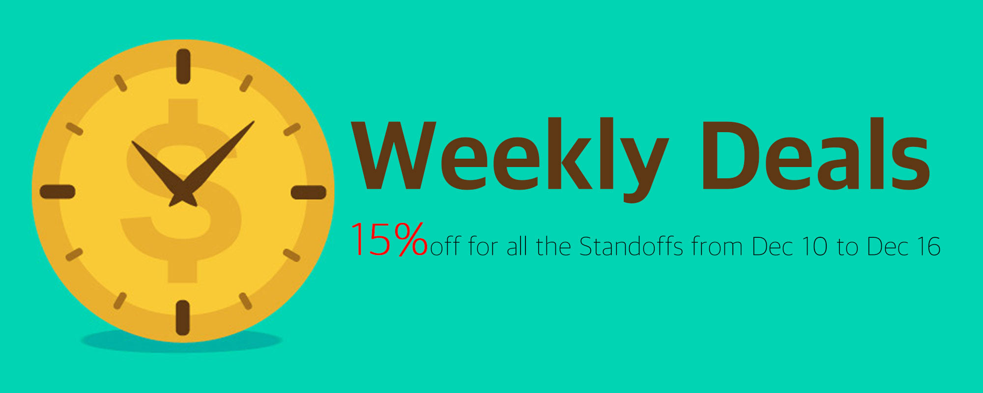 Standoffs Weekly Deals