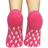 Non Slip Women Grips Cotton Casual Floor Hospital Socks, 4 Pack - Lantee Online Store