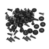 50 Pcs Fender Push-Type Retainer Fastener Clips for Nissan 01553-09321 - Lantee Online Store