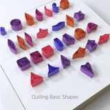 Paper Quilling Art 2080 Strips (15 inch, 26 Colors, 8 Sets) - Lantee Online Store