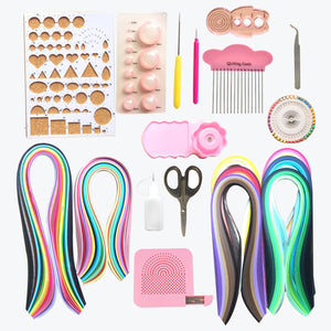 20 Set of Quilling Paper Kits - 8 Pack 3mm 960 Strips & 12 Tools - Lantee Online Store