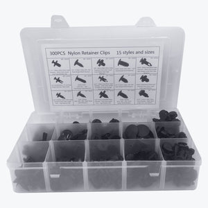 300 Pcs 15 Kinds Push Type Door Panel Retainer Car Clips & Fasteners - Lantee Online Store