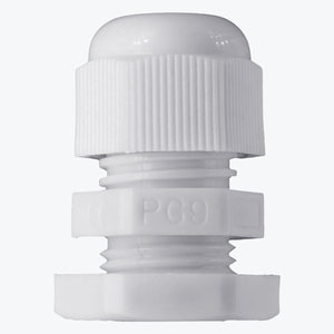 20 Pcs White PG 9 Cable Gland - Lantee Online Store