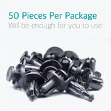 50 Pcs Bumper Engine Cover Fender Retainer Clips for Subaru 90914-0007 - Lantee Online Store