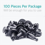 100 Pcs Bumper Engine Cover Fender Grille Clips for Subaru 90914-0007 - Lantee Online Store